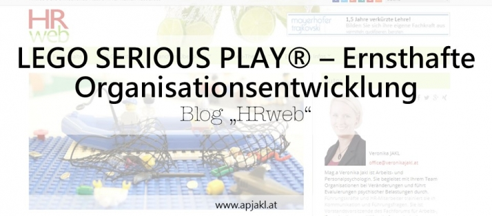 HRweb.at: LEGO SERIOUS PLAY ® – Ernsthafte Organisationsentwicklung